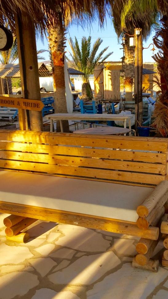 Sea You Beach Bar wooden chair