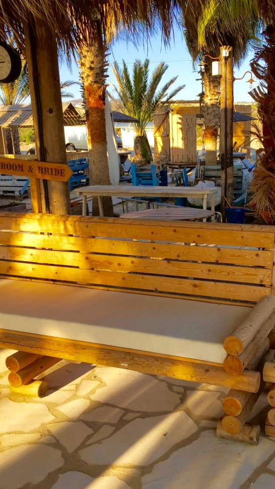 Sea You Beach Bar wooden chair