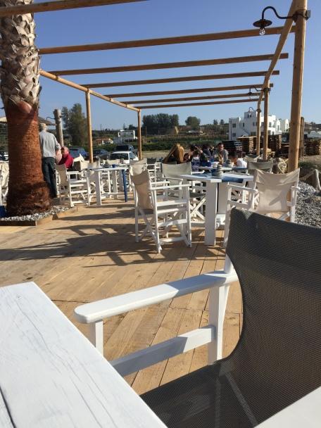 Decked Area at Sea View Beach Bar