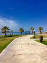 Paphos Sea Front near the lighthouse
