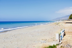 Empty beaches near Argaka - Polis
