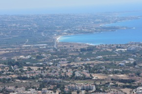 View from Peyia to Potima Bay