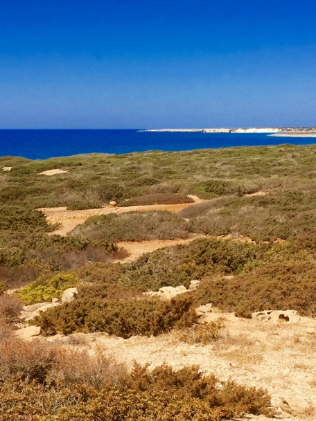 Beautiful Akamas Peninsula Nature Reserve