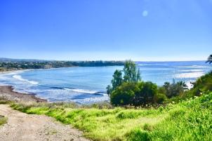 View towards Coral Bay Beach