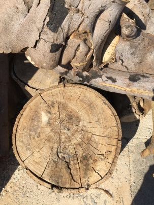 Wood for chopping